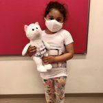 Girl with Rigo Cheneau Scoliosis Brace