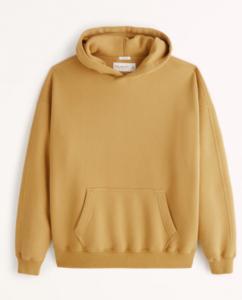 Men's gold hoodie